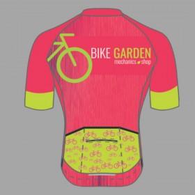 Camiseta Bike Garden Fem. Coleção Verão 2021